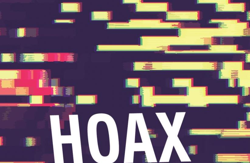 Hoax, terme anglais qui désigne un canular (photo credit: FREEIMAGE)