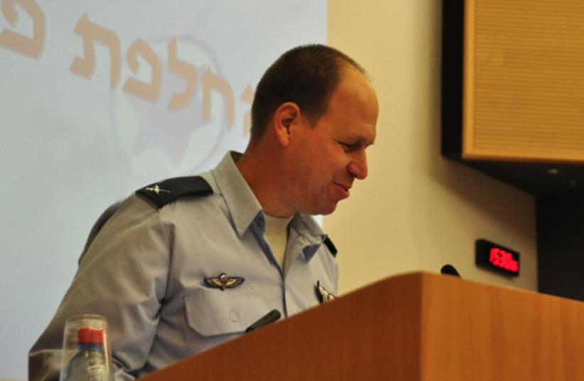 Maj-Gen. Hagai Topolansky (photo credit: WWW.IAF.CO.IL)