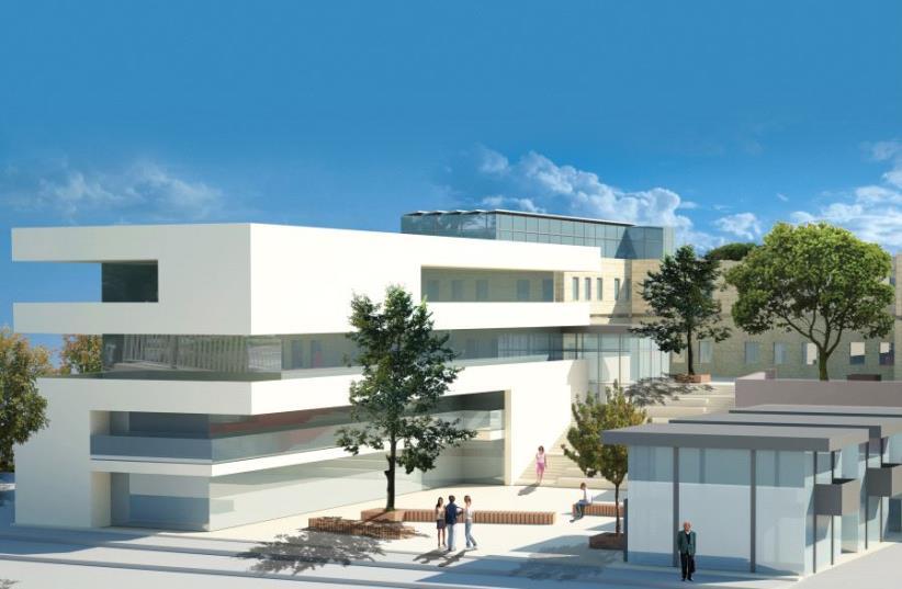 Illustrative depiction of the future Kiryat Shmona Food-tech Hub (photo credit: Courtesy)