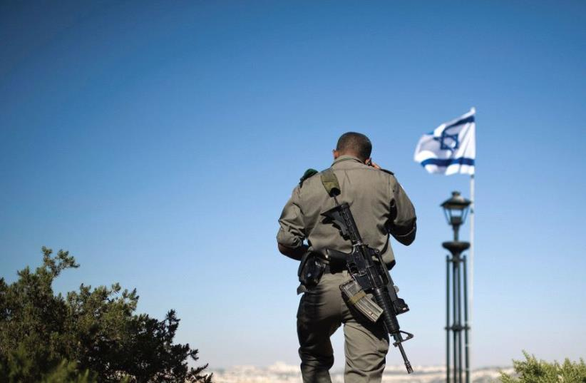 'THE PALESTINIAN refusal to recognize Israel as the nation-state of the Jewish people is Netanyahu's powerful explanation why no compromise with the Palestinians is possible (photo credit: REUTERS)