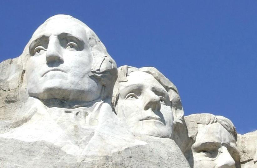 GEORGE WASHINGTON led, but will our current president? (photo credit: REUTERS)