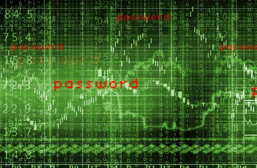 Cyber hacking (illustrative) (photo credit: INGIMAGE)