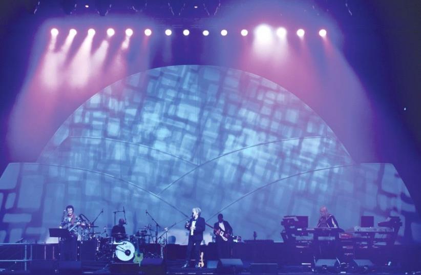 EX-YES members Anderson Rabin Wakeman (ARW) perform for elated fans in Tel Aviv. (photo credit: YUVAL EREL)