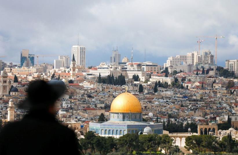 Jerusalem Temple Mount (photo credit: AMMAR AWAD / REUTERS)