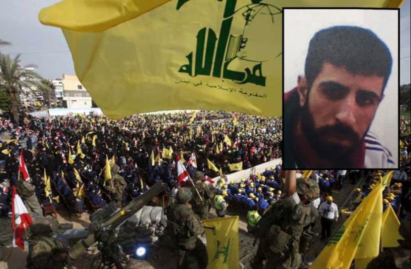 Suspected Hezbollah operative Yusef Yasser Suylam (insert) (photo credit: SHIN BET,REUTERS)
