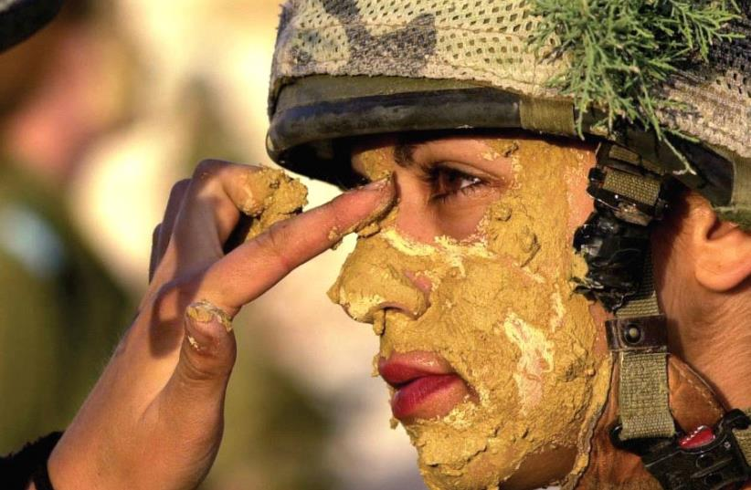Women in the IDF (photo credit: REUTERS)