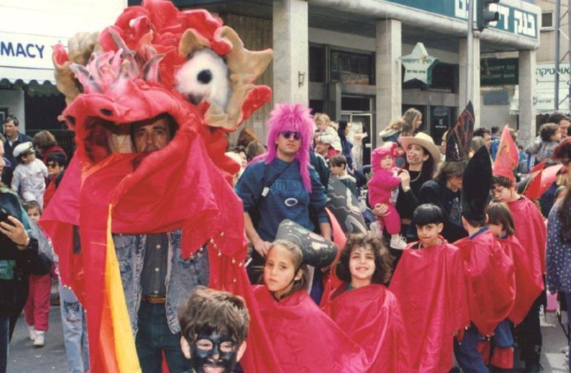 Une parade d'enfants dans les rues (photo credit: DR)