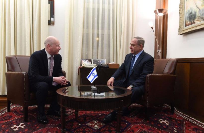 Netanyahu, Greenblatt (photo credit: KOBI GIDEON/GPO)
