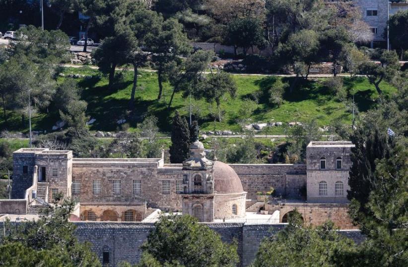 Valley of the Cross Jerusalem (photo credit: MARC ISRAEL SELLEM)