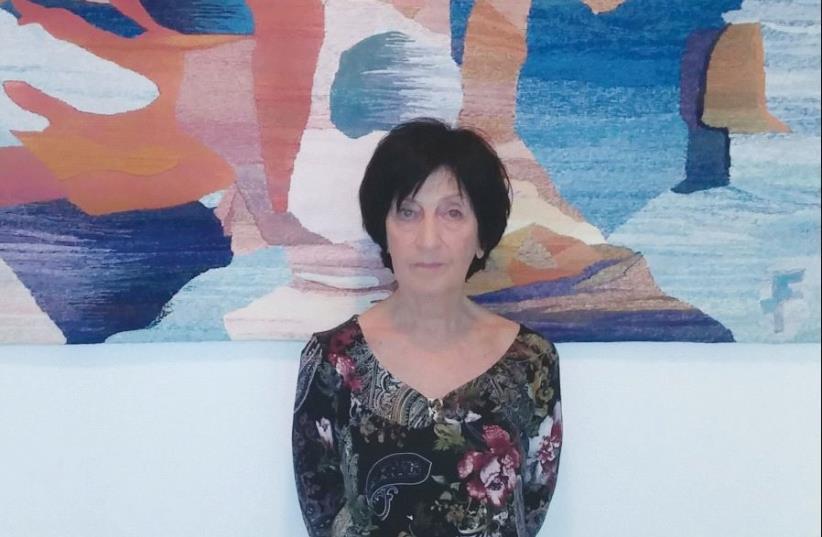 Sylvia Feinstein (photo credit: CARMELA LEV-ARI)