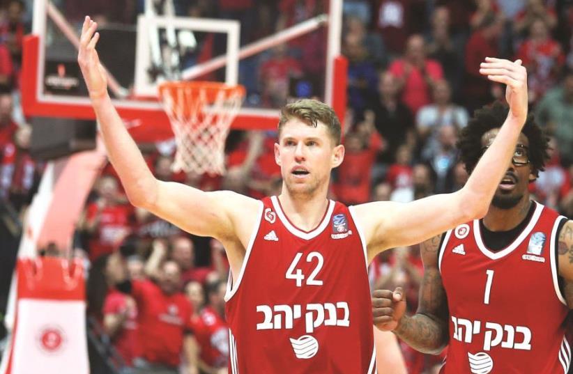 Hapoel Jerusalem forward Travis Peterson (photo credit: DANNY MARON)
