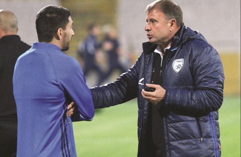 Israel national team coach Elisha levy  (photo credit: ADI AVISHAI)