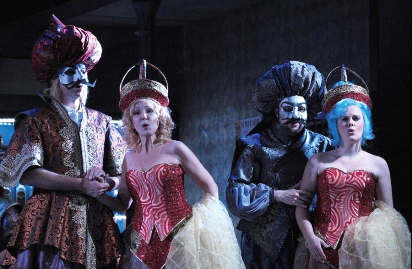 The Israeli Opera presents Rossini's comic opera (photo credit: PR)