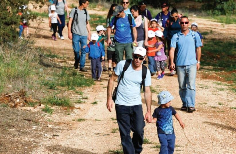 The 51st Gilboa Walk (photo credit: PR)
