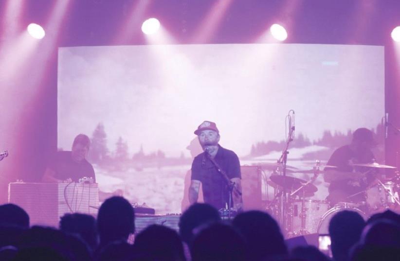 AMERICAN INDIE rock band Grandaddy dazzle fans at Tel Aviv's Barby Club.  (photo credit: LIRON SHNAIDER)