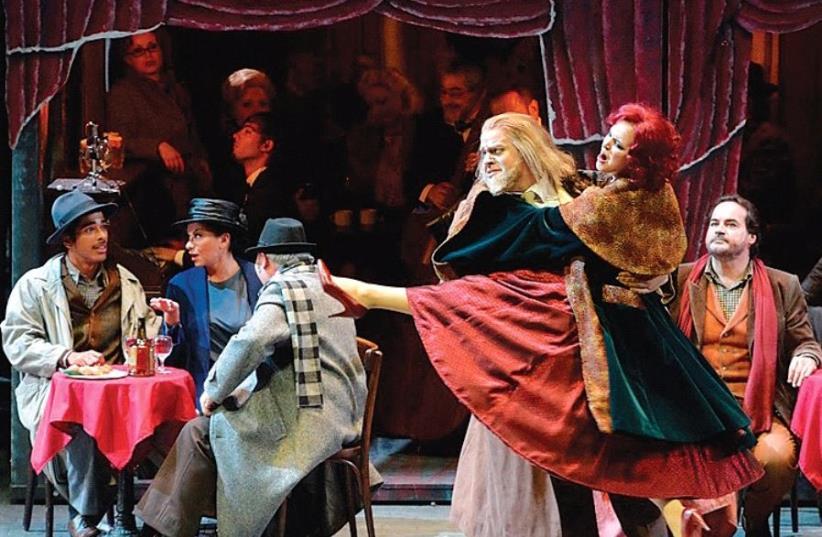 ISRAEL OPERA'S production of 'La Boheme.' (photo credit: YOSSI ZWECKER)