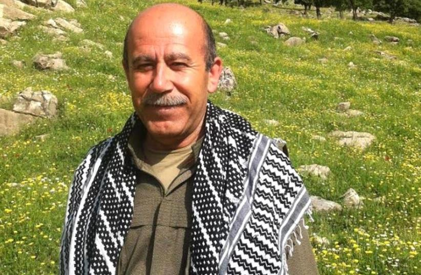 PJAK joint president Siamand Moeini (photo credit: Courtesy)