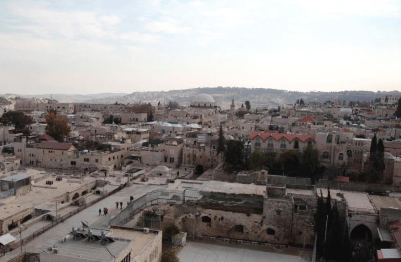 A VIEW of the Jewish Quarter in Jerusalem's Old City. (photo credit: REUTERS)