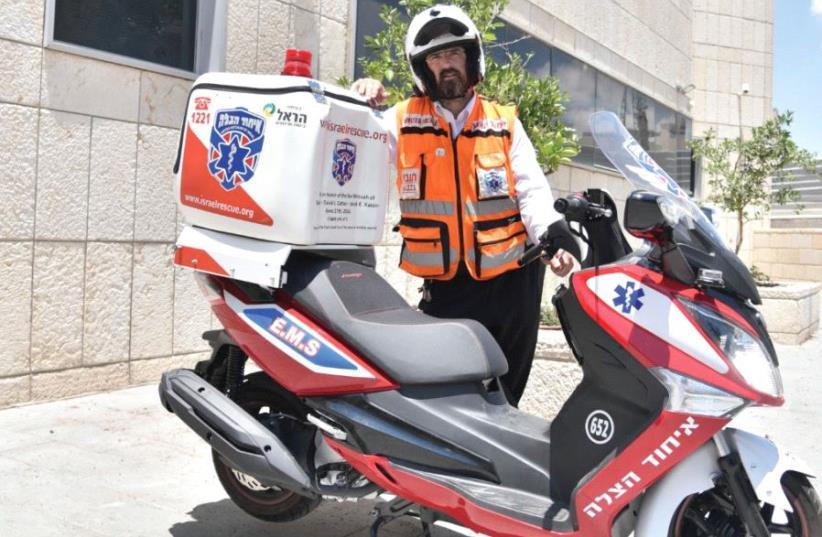 CHAIM DOVID GOLDMAN, a United Hatzalah volunteer EMT. (photo credit: Courtesy)
