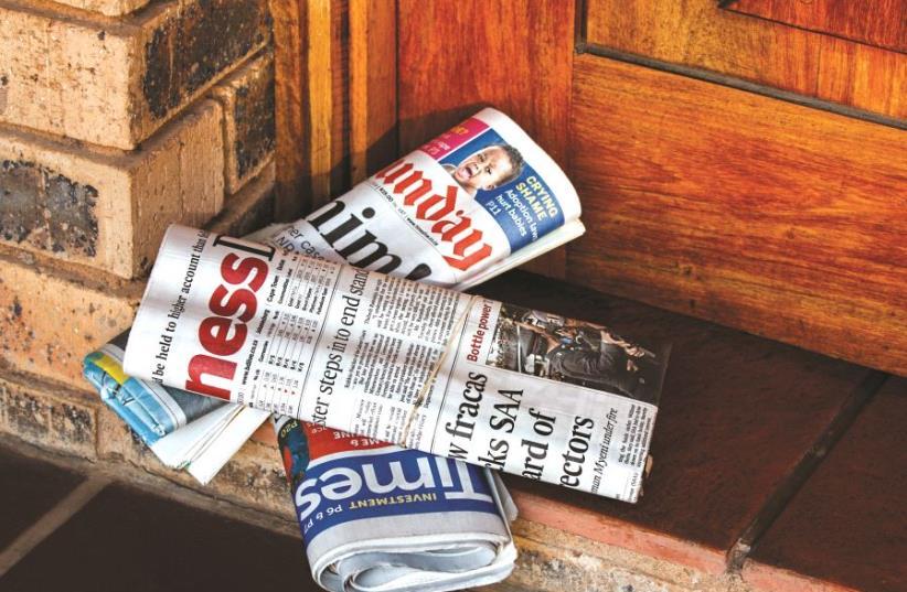 Des journaux anglophones (photo credit: PIXABAY)