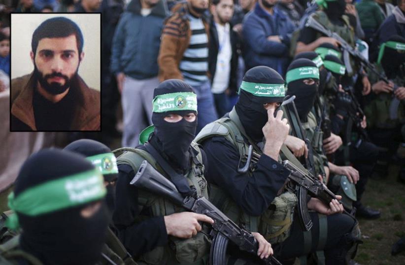 Hamas operative Malak Nazar Yousseff Kazmar (photo credit: REUTERS,SHIN BET)