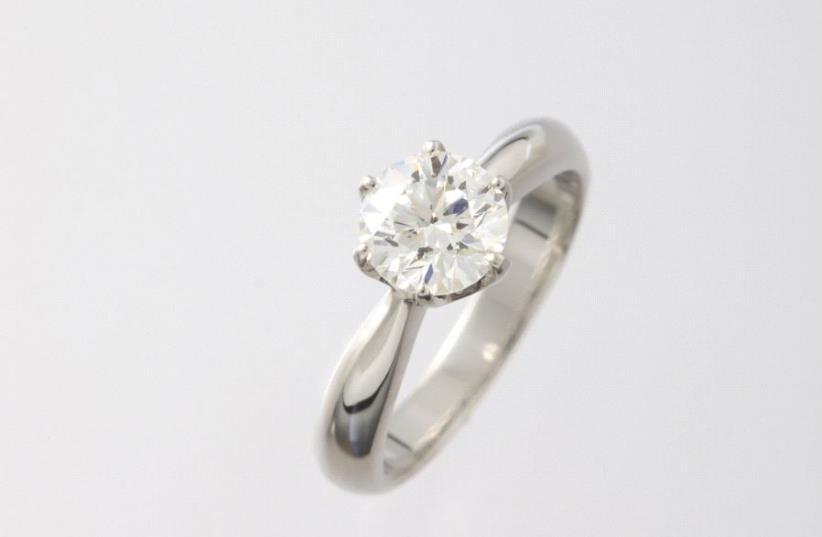 A diamond ring (illustrative) (photo credit: INGIMAGE)