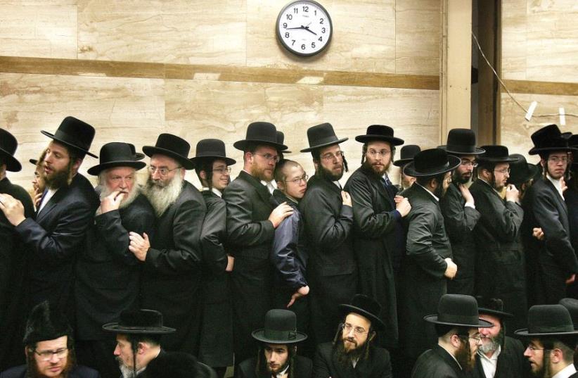 Hassidic Jews (photo credit: REUTERS)