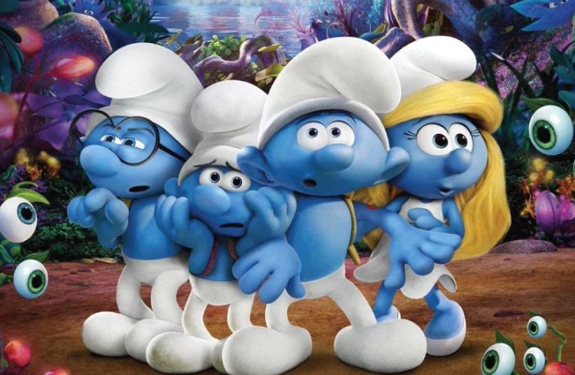 The Smurfs (photo credit: PR)