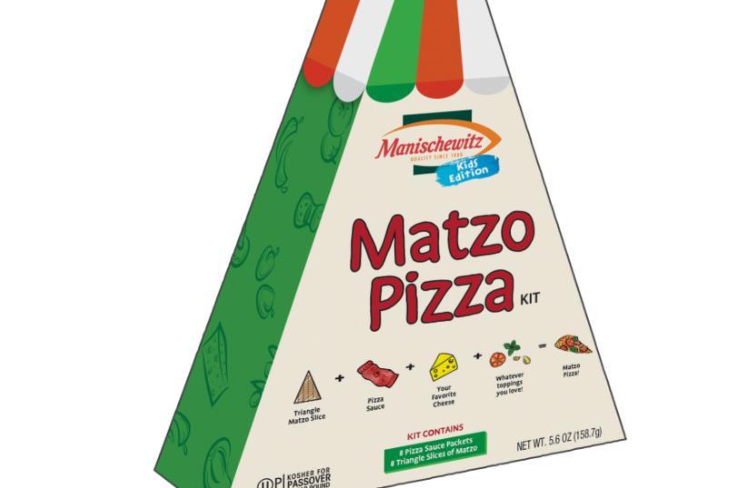 Manischewitz matza pizza (photo credit: Courtesy)