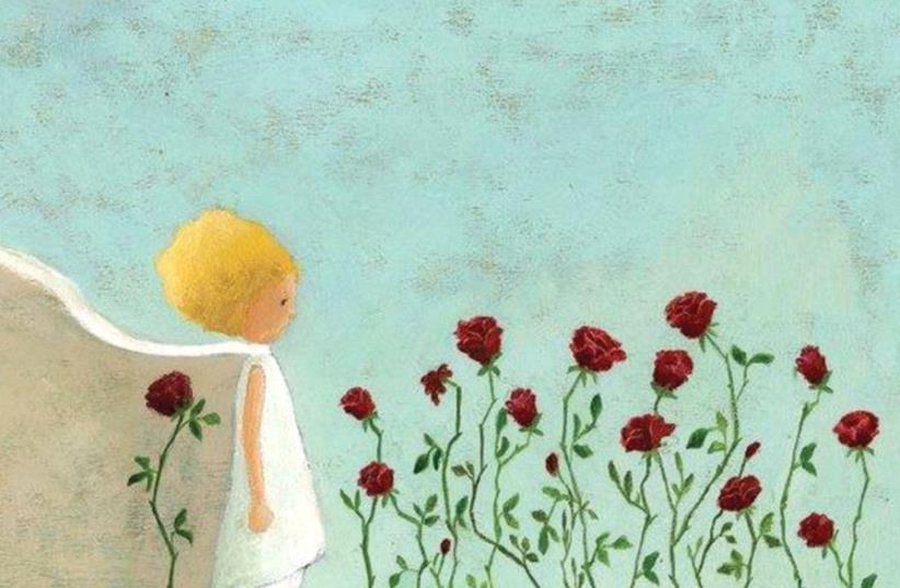Roses and a prince. Illustration and photo Inbal Leitner (photo credit: INBAL LEITNER)