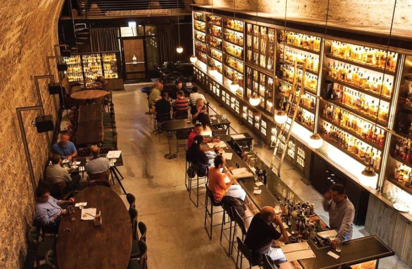 Tel Aviv's Whiskey Bar and Museum (photo credit: PR)