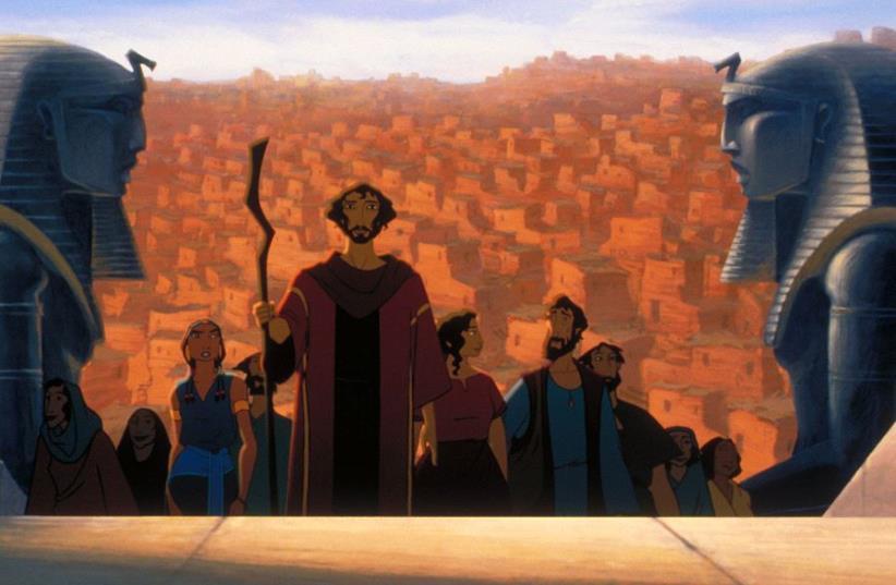 The Prince of Egypt (photo credit: screenshot)