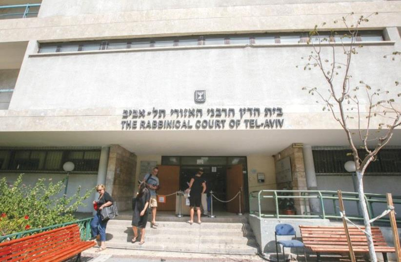 The Rabbinical Court of Tel Aviv (photo credit: MARC ISRAEL SELLEM)
