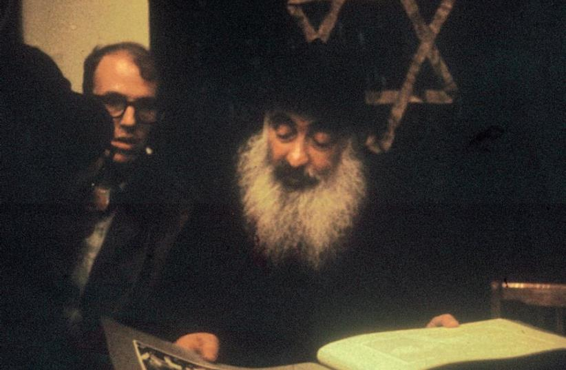 JONATHAN PORATH (left) meeting with Rabbi Yehuda Levin, Chief Rabbi of Moscow's Archipova Street Synagogue in 1970. (photo credit: Courtesy)