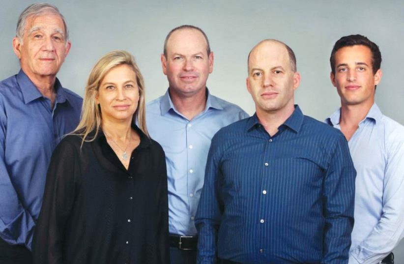 THE ISRAEl Secondary Fund management team (from left): Shmuel Shilo, founding partner; Dana Ben Yosef, CFO; Dror Glass, founding managing partner; Nir Linchevski, managing partner; Josh Scher, associate. (photo credit: Courtesy)