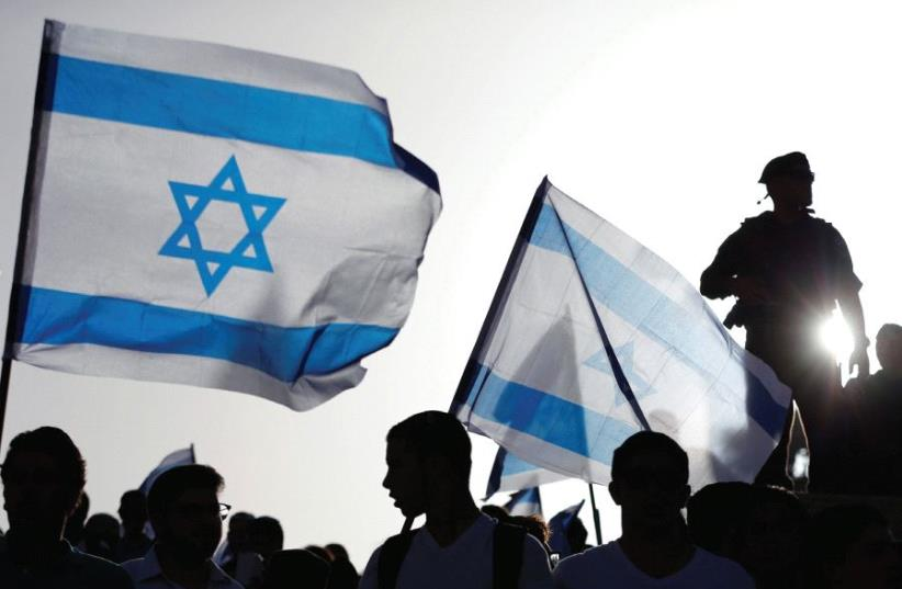 'LET'S DEBATE the meaning of the Zionist Idea today – in Israel and the Diaspora, then compare notes. It's no longer about establishing the state; it should be about more than defending the state; it must be about perfecting the state.' (photo credit: REUTERS)