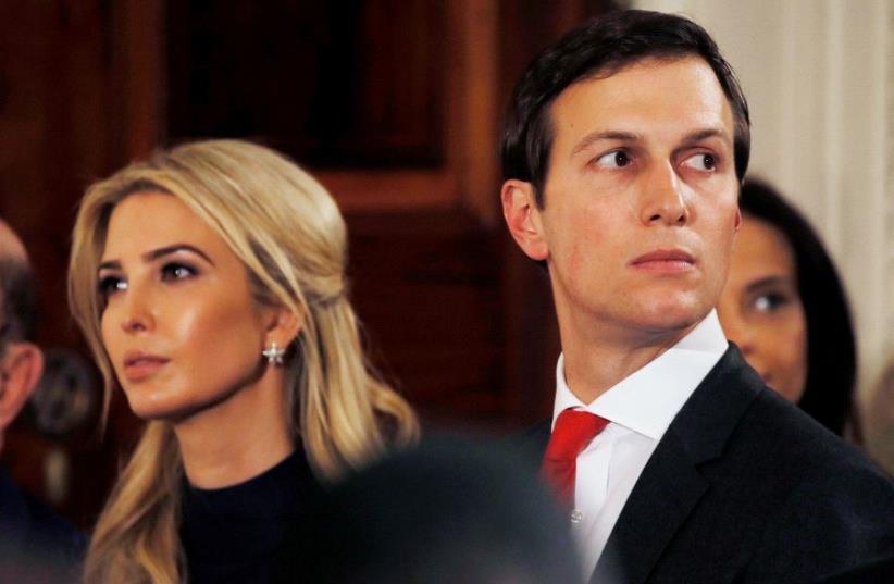 Ivanka Trump and Jared Kushner (photo credit: REUTERS)