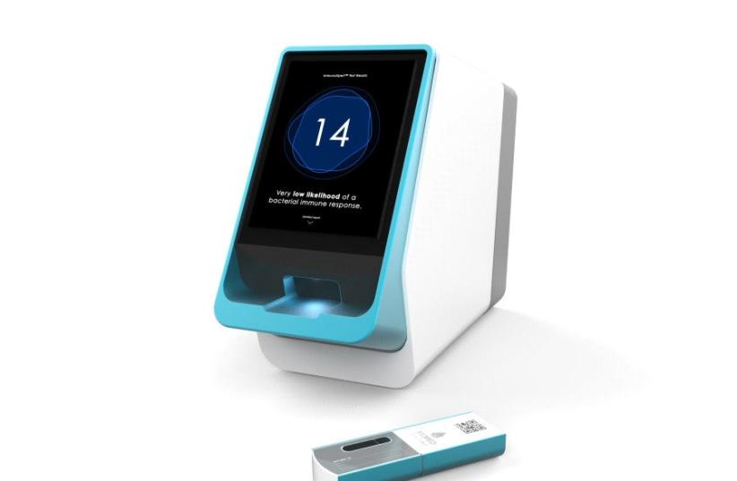 MeMed's second-generation test will enable rapid testing at the point-of-care for bacterial and viral infections. (photo credit: MEMED)