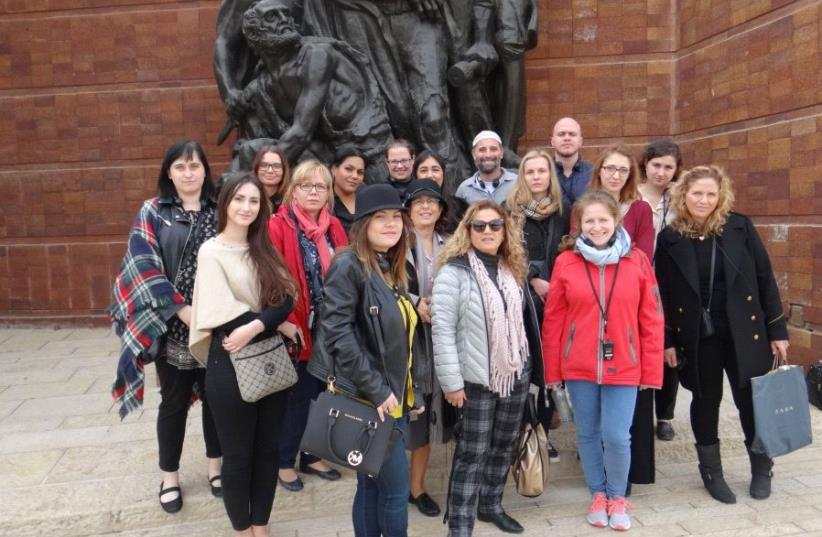 Delegation of Polish educators visits Israel for the first time earlier this year as part of the program with Givat Washington Academic College for Education (photo credit: Courtesy)