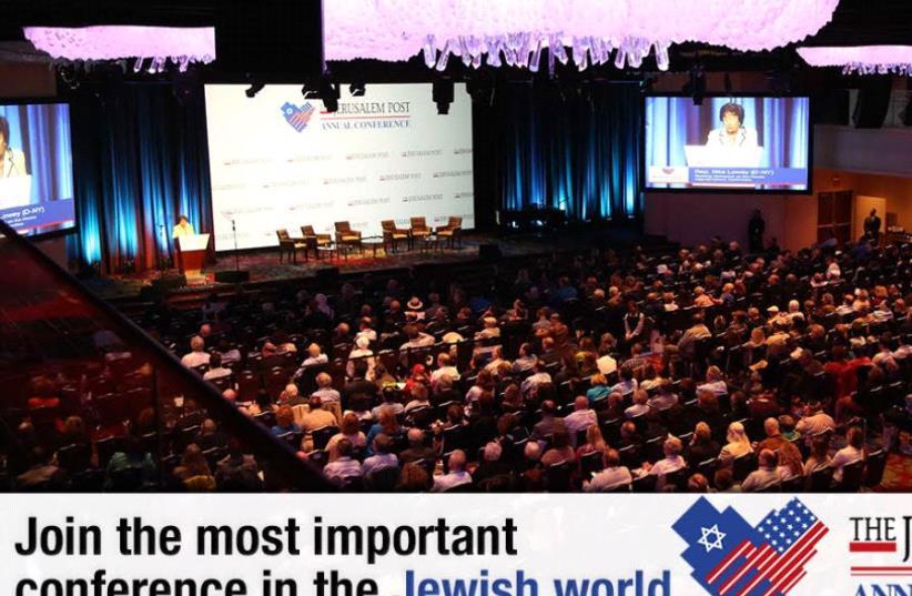 JPost Annual Conference (photo credit: JPOST STAFF)