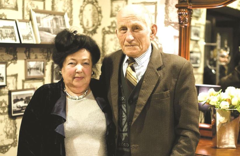 Anna Grygiel-Huryn a survécu grâce à la famille Jarosz (photo credit: PIOTR SADURSKI)