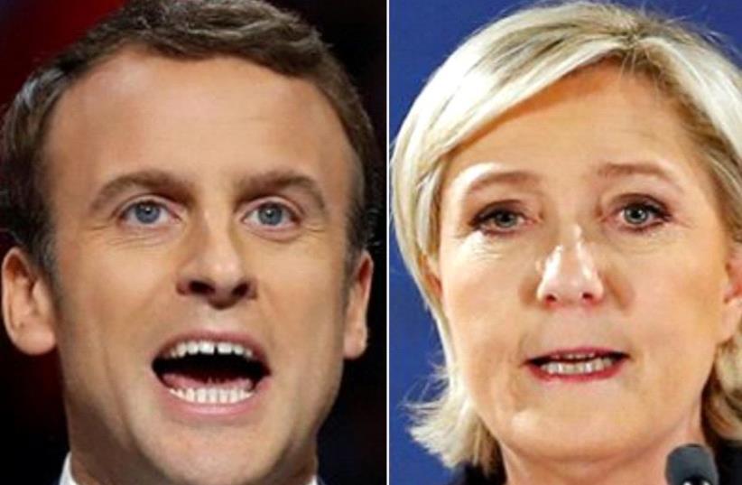 France votes: Macron vs Le Pen (photo credit: REUTERS)