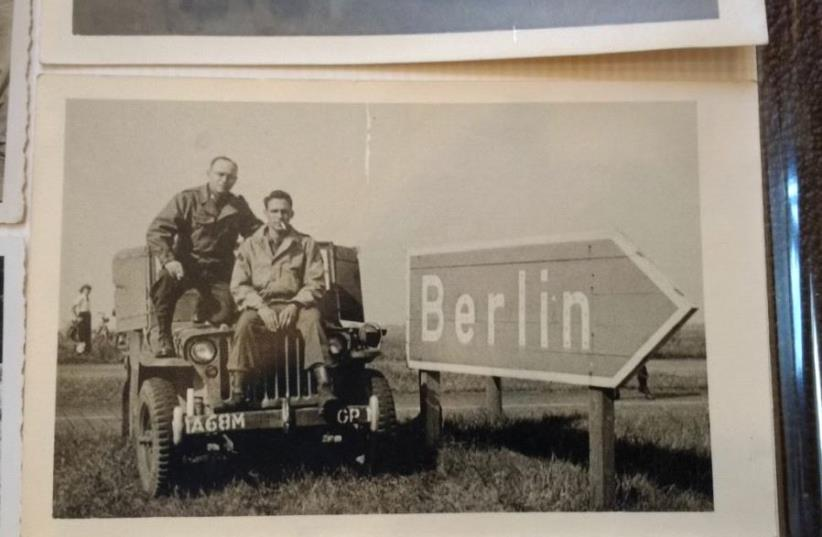 Oren's father Lester Bornstein (Right), and his uncle Joe Bornstein (Left) (photo credit: LESTER BORNSTEIN)