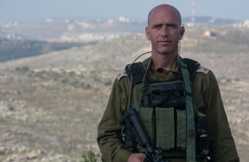 Lt.Col Yair Pinto (photo credit: IDF SPOKESMAN'S OFFICE)