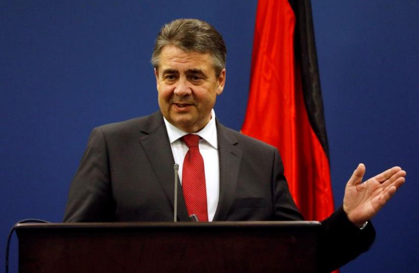 Sigmar Gabriel (photo credit: REUTERS)