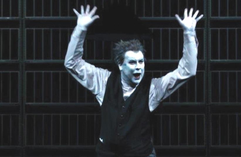 ROBERT WILSON'S production of Samuel Beckett's classic 'Krapp's Last Tape.' (photo credit: LUCIE JANSCH)