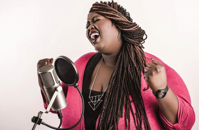 Vocalist Shirma Rouse (photo credit: MAURICE GILTJES)