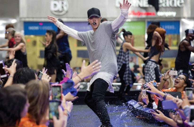 Justin Bieber (photo credit: REUTERS)