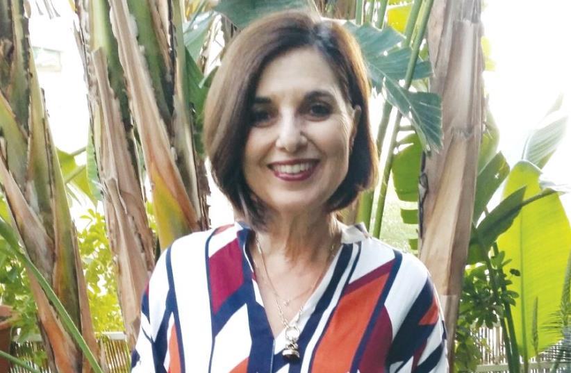 Bev Joy Ehrlich from Cape Town to Jerusalem (photo credit: ADRIAN EHRLICH)