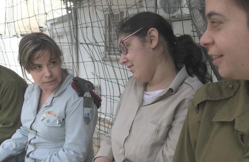 (Left) Major Ricki Golan (photo credit: ELI MANDELBAUM)